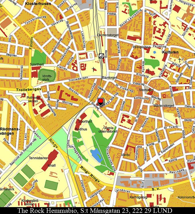 Karta till butiken