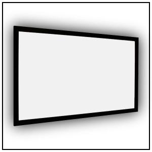 Euroscreen Frame Vision Light Veltex Flexwhite