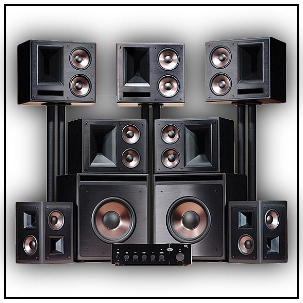 klipsch thx ultra2 7 2 system the rock hemmabio. Black Bedroom Furniture Sets. Home Design Ideas