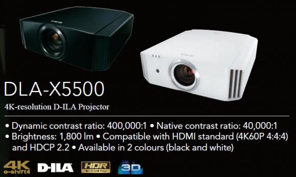 JVC DLA-X5500 Nyhet